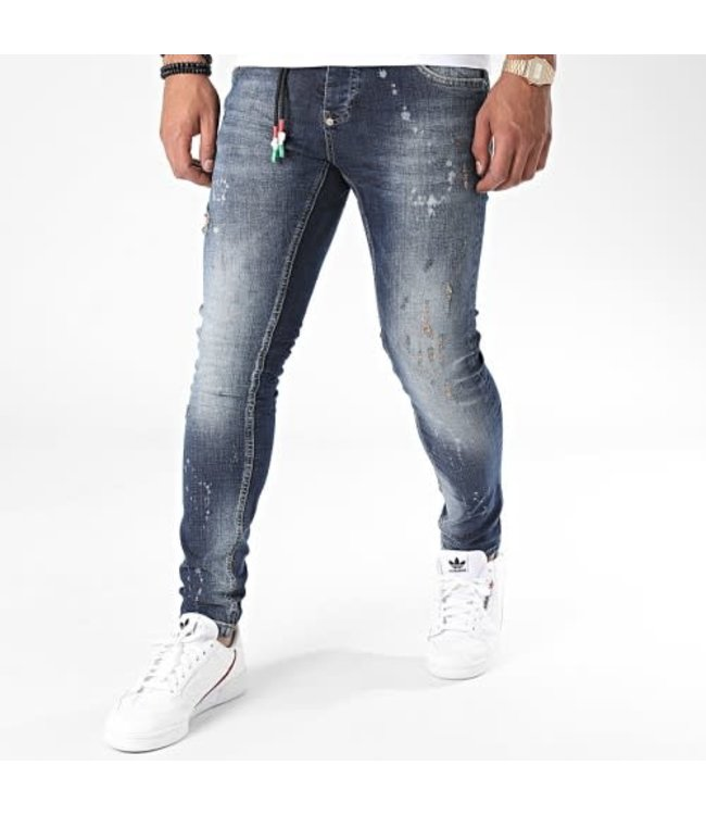 UNIPLAY SKINNY FIT JEANS - BLUE (329)