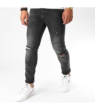 UNIPLAY SKINNY FIT JEANS - BLACK (313)