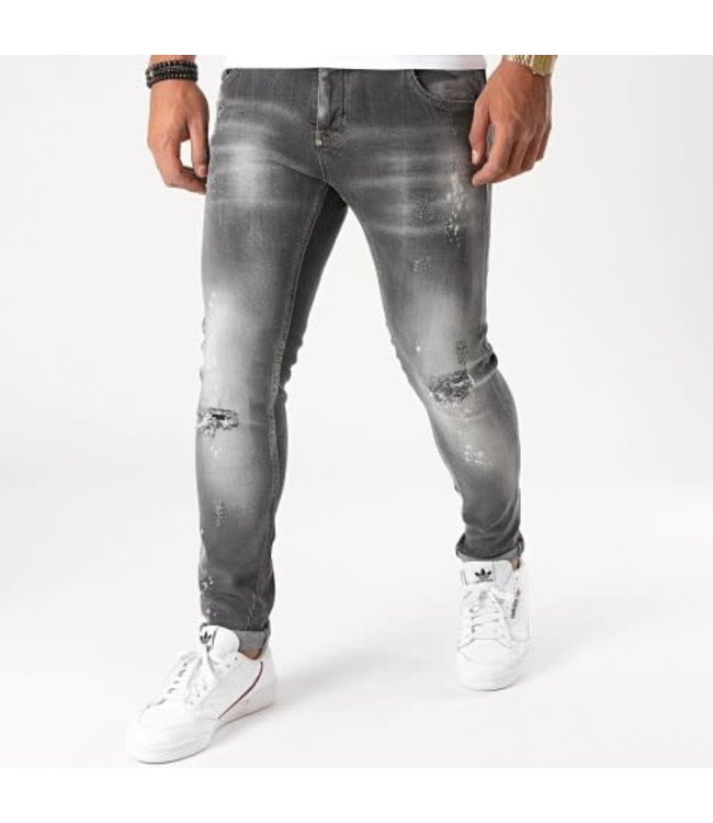 UNIPLAY SKINNY FIT JEANS - GREY (307)