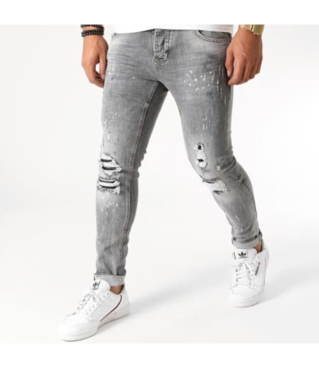 UNIPLAY SKINNY FIT JEANS - GREY (353)