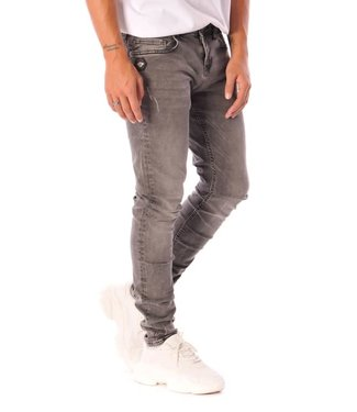 Black Bananas DON CLEAN JEANS - GREY