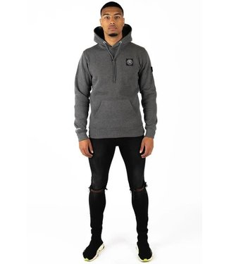 QUOTRELL COMMODORE HOODIE - GREY