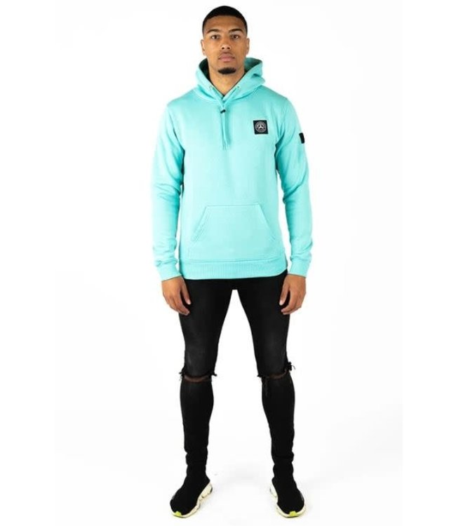 QUOTRELL COMMODORE HOODIE - MINT