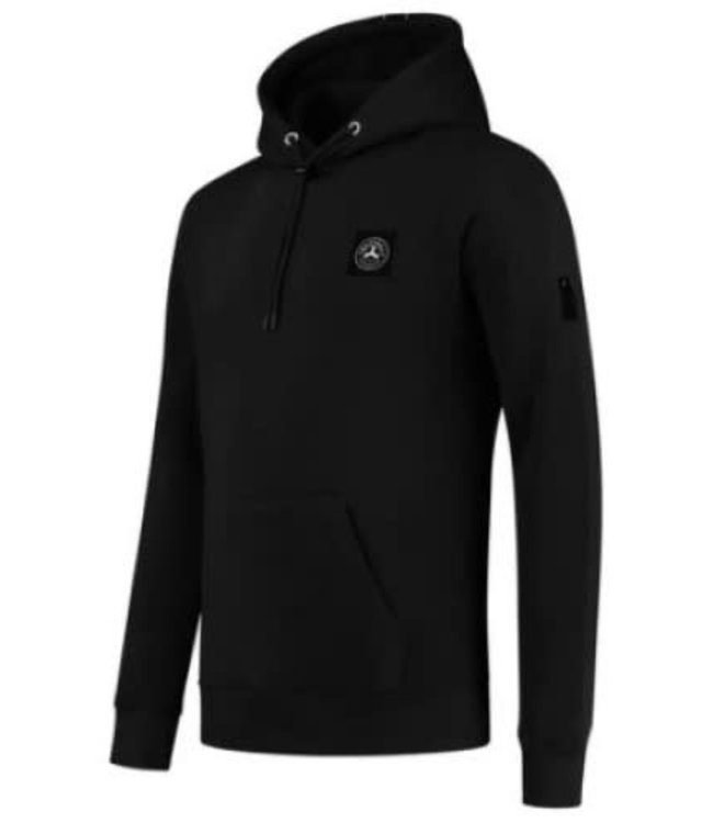 QUOTRELL COMMODORE HOODIE - BLACK