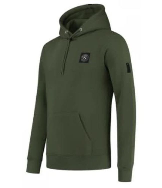 QUOTRELL COMMODORE HOODIE - ARMY