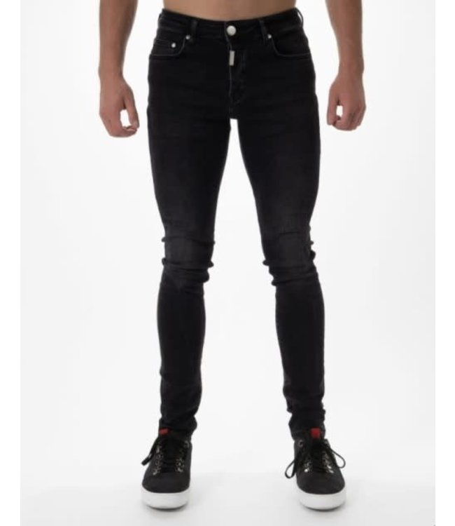 AB LIFESTYLE BASIC STRETCH JEANS - BLACK