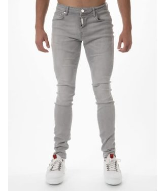 AB LIFESTYLE BASIC STRETCH JEANS - LIGHT GREY