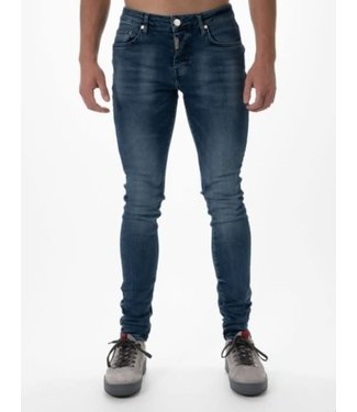 AB LIFESTYLE BASIC STRETCH JEANS - MID BLUE