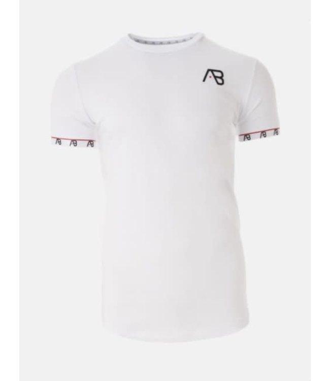 AB LIFESTYLE FLAG TEE - WHITE