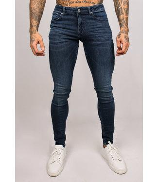 2Legare Noah Stretch Jeans - Solid Blue (202)