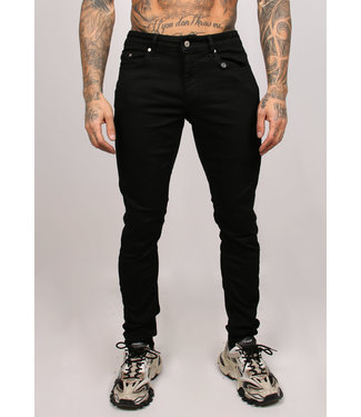 2Legare Noah Stretch Jeans - Ultra Black (101)