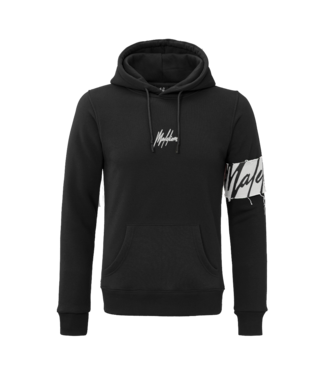 MALELIONS CAPTAIN HOODIE - BLACK/OFF-WHITE