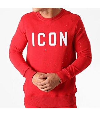 UNIPLAY ICON SWEATER - RED (HD-54)