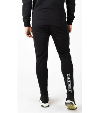 QUOTRELL COMMODORE PANTS - BLACK