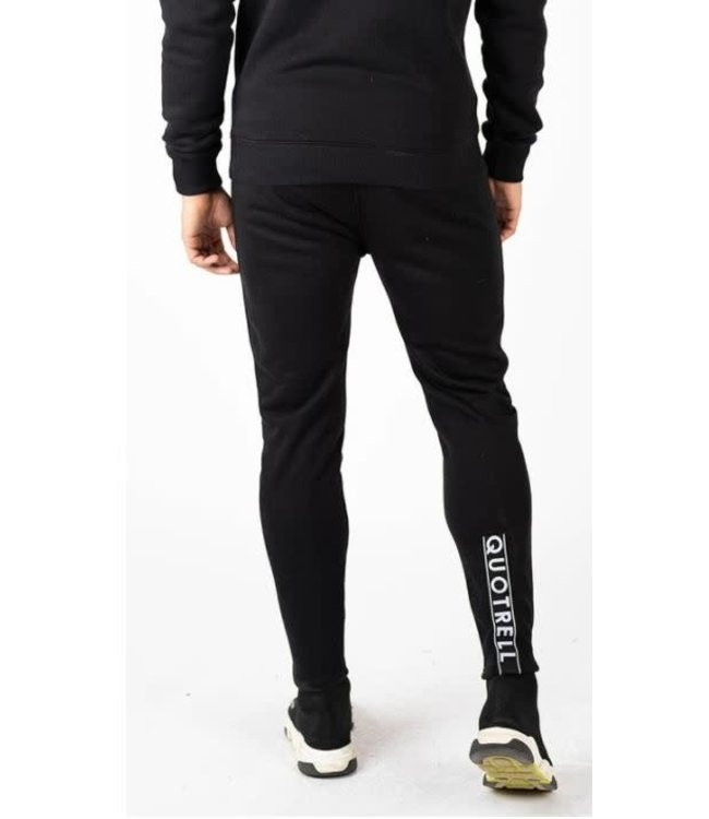 QUOTRELL COMMODORE PANTS - BLACK