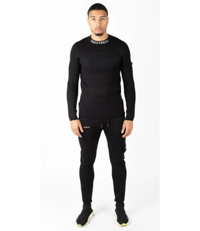 QUOTRELL LONDON SWEATER - BLACK