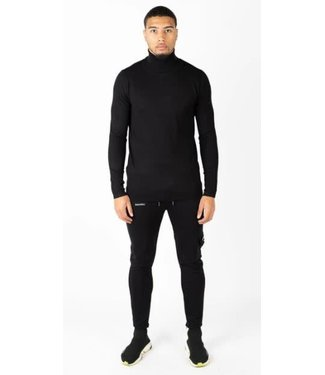 QUOTRELL OSLO TURTLEKNIT - BLACK