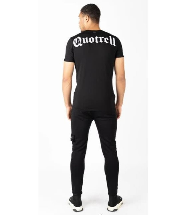 QUOTRELL WING T-SHIRT 2.0 - BLACK