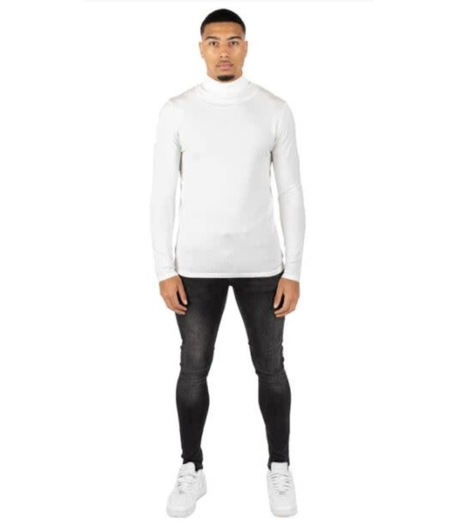 QUOTRELL OSLO TURTLEKNIT - OFF WHITE