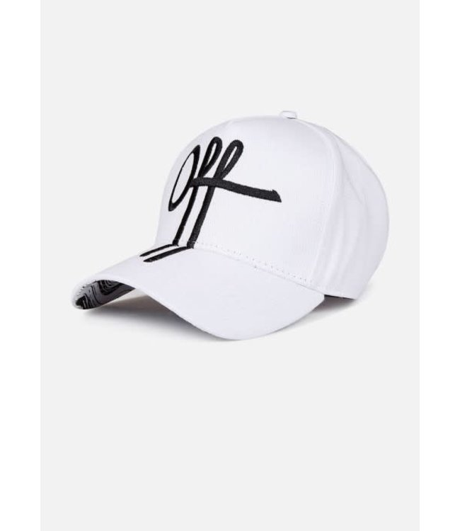 OFF THE PITCH THE SAGE TRUCKER - WHITE