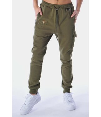 BLACK BANANAS STATEMENT JOGGER - MOSS GREEN