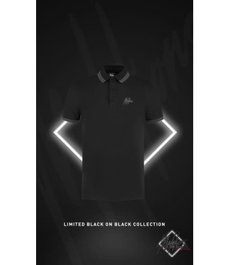 MALELIONS POLO BLACK FRIDAY - BLACK/ANTRA