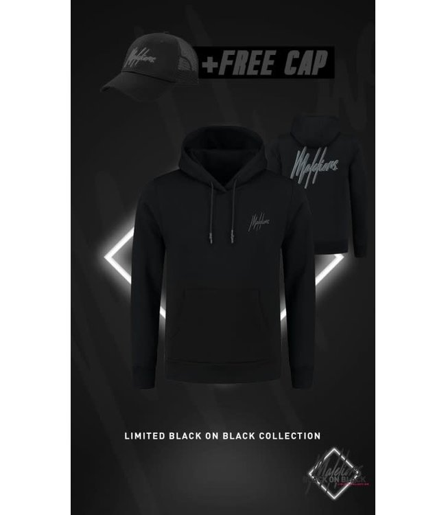 MALELIONS SIGNATURE 2.0 HOODIE BLACK FRIDAY - BLACK/ANTRA (+FREE CAP)