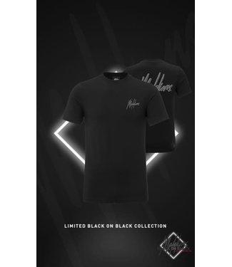 MALELIONS SIGNATURE T-SHIRT 2.0 BLACK FRIDAY - BLACK/ANTRA