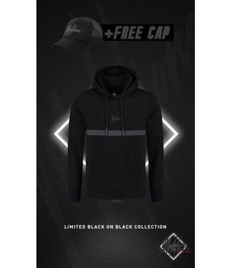 MALELIONS TONNY HOODIE BLACK FRIDAY - BLACK/ANTRA (+FREE CAP)