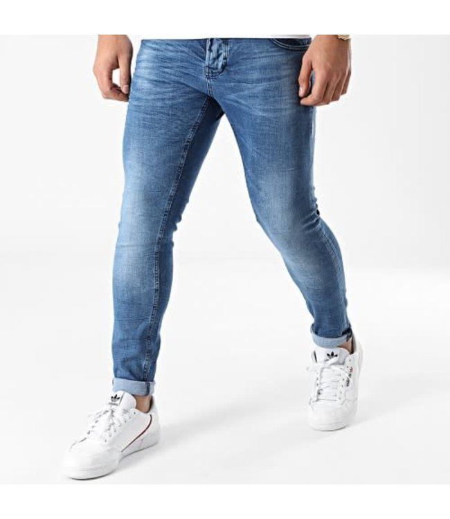 UNIPLAY SKINNY FIT JEANS - BLUE (445)