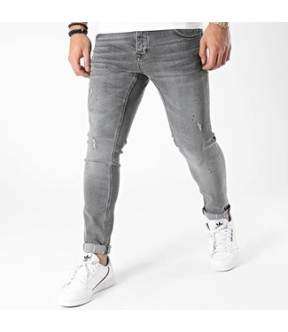 UNIPLAY SKINNY FIT JEANS - GREY (437)