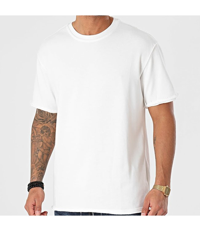 FRILIVIN Oversized T-shirt - White (BM1146)