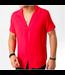 FRILIVIN Oversized Blouse - Red (BM1135)