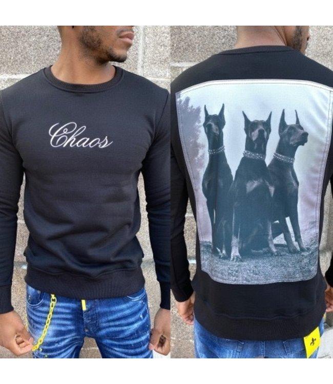 Uniplay Chaos Sweater - Zwart (T737)