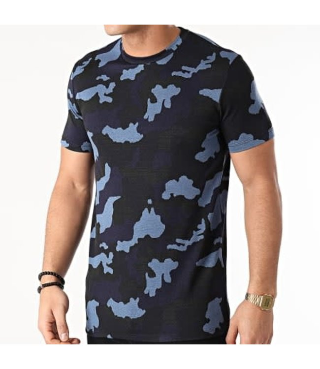 UNIPLAY Camo T-shirt - Blue (UY565)