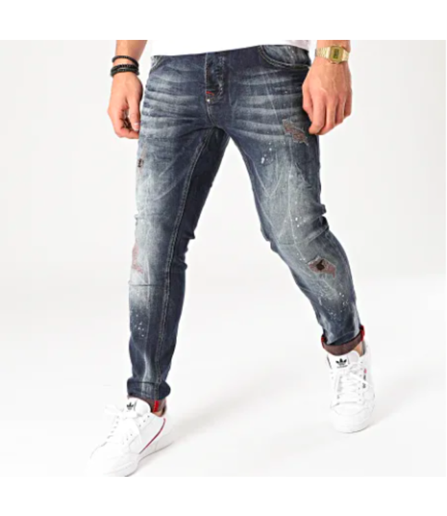 UNIPLAY Skinny Fit Jeans - Blue (459)