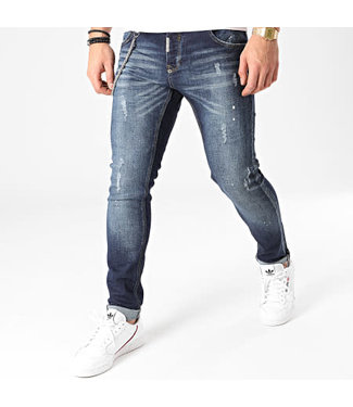 UNIPLAY Skinny Fit Jeans - Blue (464)
