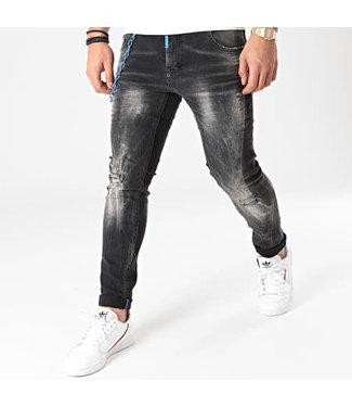 UNIPLAY Skinny Fit Jeans - Black (461)