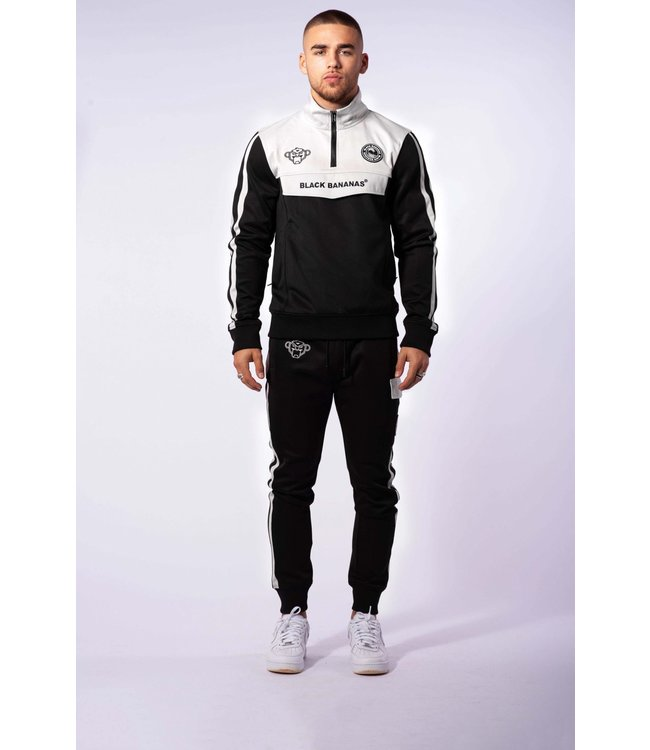 BLACK BANANAS Sprint Tracksuit - Black/Grey