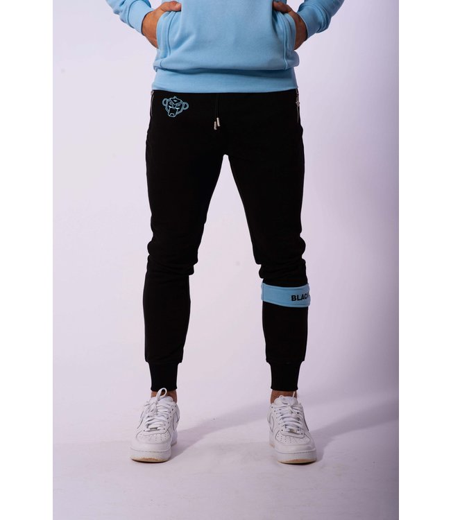 BLACK BANANAS Command Jogger - Black/Blue