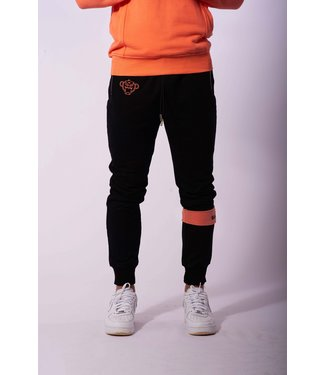 Black Bananas Command Jogger - Black/Peach