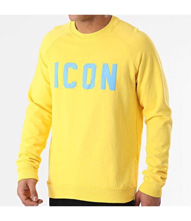 Uniplay Icon Sweater - Flashy Yellow (UY568)