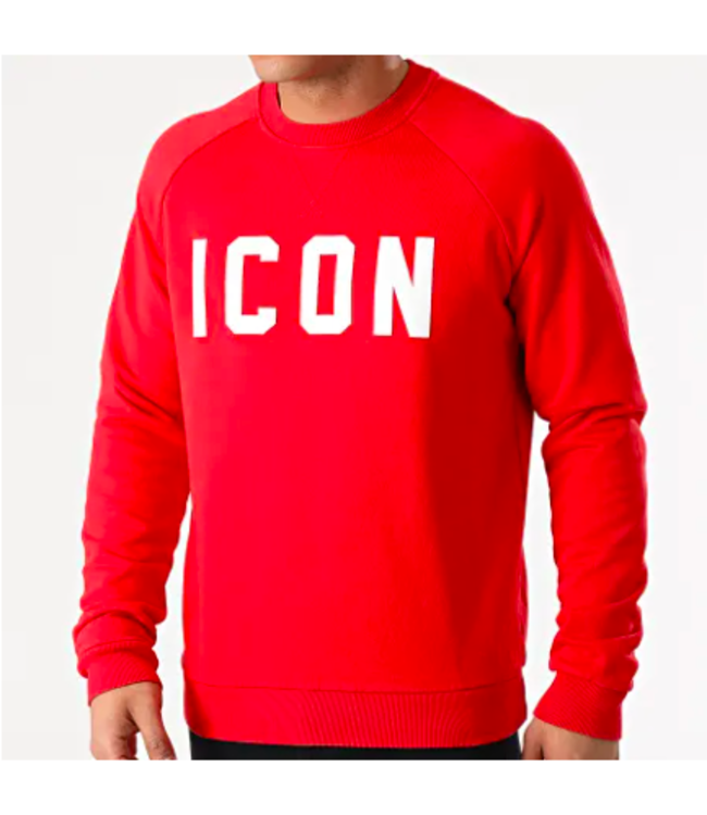 UNIPLAY Icon Sweater - Red (UY568)