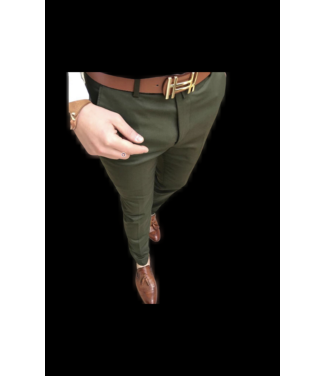UNIPLAY Stretch Pantalon - Green (012)