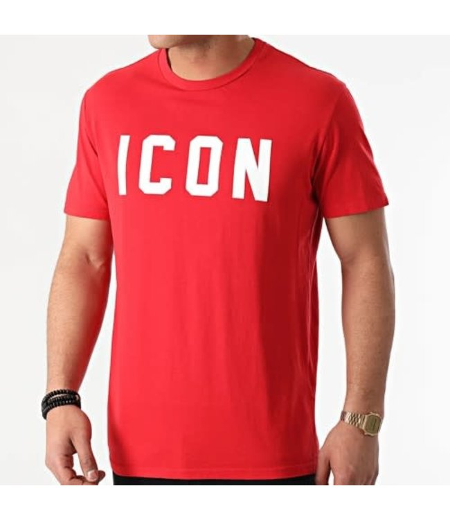 UNIPLAY Icon T-shirt- Red (UY575)
