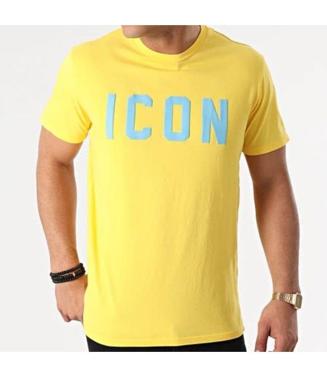 UNIPLAY Icon T-shirt - Yellow (UY575)