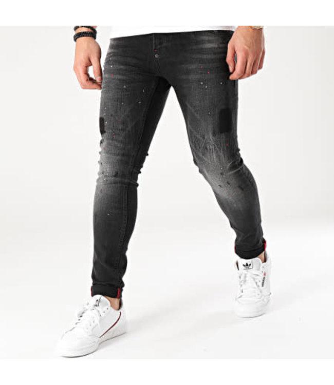 UNIPLAY Skinny Fit Jeans - Black (462)