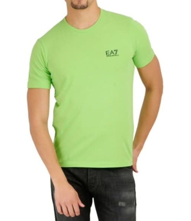 EA7 EMPORIO ARMANI T-Shirt - Green Flash (8NPT52)