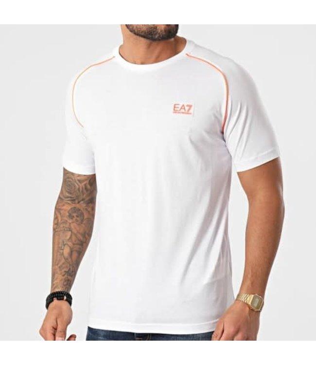EA7 EMPORIO ARMANI T-Shirt - White (3KPT04)