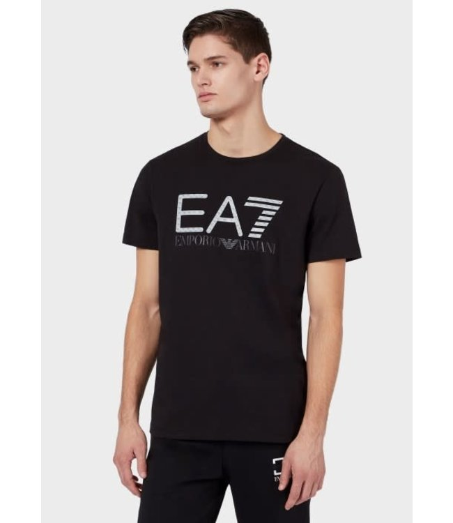 EA7 Emporio Armani 3D Logo Print T-Shirt - Black (3KPT12)